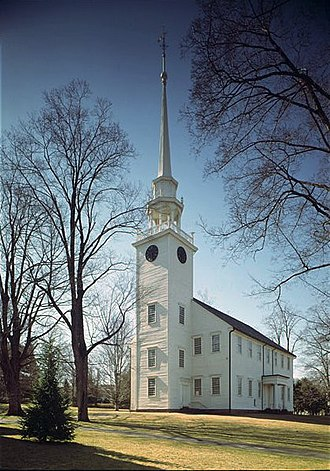 Farmington, Connecticut - First Church of Christ.  Photo by Jack Boucher.
