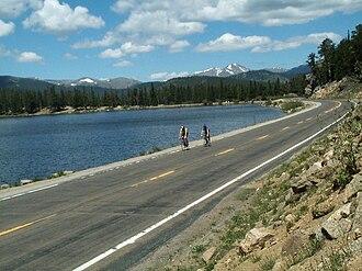 Colorado State Highway 103 - SH 103 at Echo Lake.