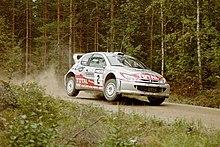 Rally Monte Carlo 2005 D. Auriol - D. Giraudet Peugeot 2006 No.61