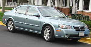 2002-2003 Nissan Maxima photographed in USA.