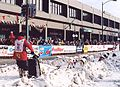 2003 Iditarod start in Anchorage - Aliy Zirkle.jpg