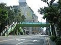 2008年總統選舉(競選布條懸掛於人行橋上) - panoramio.jpg
