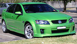 2006–2008 Holden VE Commodore SS sedan.