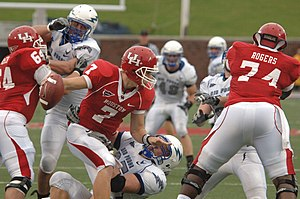 2008 Houston Cougars football team - The Cougars versus the Air Force Falcons at Gerald J. Ford Stadium