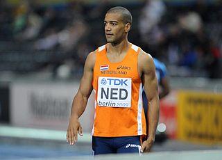 Patrick van Luijk Dutch sprinter