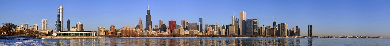 Панорама города (на переднем плане - Аквариум Шедда)