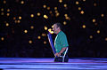 201000 - Opening Ceremony paralympian Michael Milton torch - 3b - 2000 Sydney opening ceremony photo.jpg