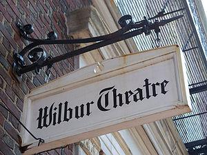 Wilbur Theatre - Image: 2010 Wibur Theatre Boston 4558888488