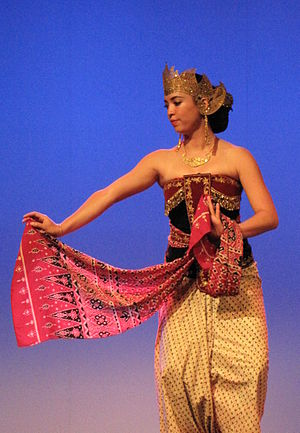 Srimpi - The elegant dance of Srimpi.