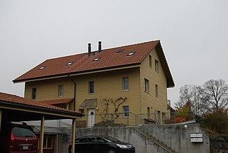 Zuzwil, Bern - Modern house in Zuzwil