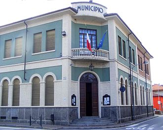 Rondissone - Town hall.