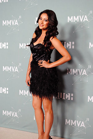 Shay Mitchell - At the 2011 MuchMusic Video Awards