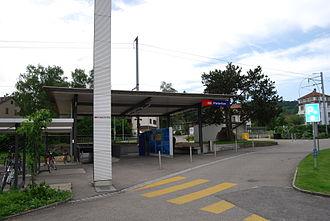 Pieterlen - Pieterlen train station