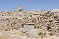 2012 - phallus at a house wall - middle Agora - Ancient Thera - Santorini - Greece - 03.jpg