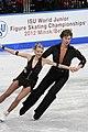 2012 World Junior FS Viktoria Kavaliova Yurii Bieliaiev2.jpg