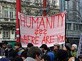 2013-02-16 - Wien - Demo Gleiche Rechte für alle (Refugee-Solidaritätsdemo) - Humanity where are you.jpg