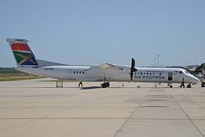 South African Express - SA Express Bombardier Dash 8 Q400 in 2013