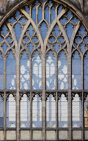 Tracery - Tracery in a window of Ely Cathedral.
