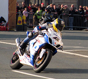 Guy Martin - Martin at the 2013 Isle of Man TT