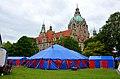 2014-05-29 Kinderzirkus Giovanni, 1984-2014, 30 Jahre, Jubiläumstour 2014, hier die Eröffnung im Zirkuszelt neben dem Neuen Rathaus in Hannover, 04f.jpg