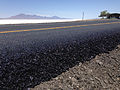 2014-07-05 12 57 50 Freshly paved ramp at the Bonneville Salt Flats Rest Area on Interstate 80 near the Bonneville Salt Flats, Utah.JPG