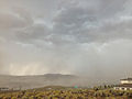 2014-07-20 15 00 18 Blowing dust along the outflow boundary of a thunderstorm in Elko, Nevada.JPG