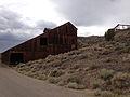 2014-07-28 13 26 54 Mill building in Berlin, Nevada at Berlin-Ichthyosaur State Park.JPG