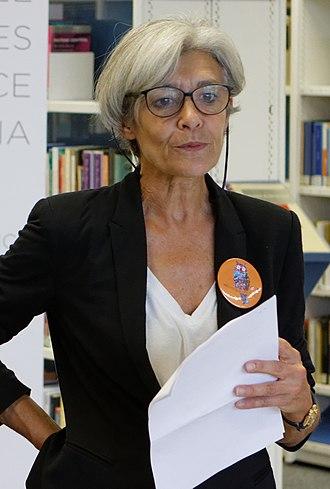 Claudie Haigneré - Image: 20140927 Femmes de science Claudie Haigneré 02