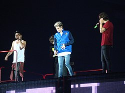 "2014 - One Direction ""Where We Are"" (Sunderland Stadium of Light) One Direction (14352055013).jpg"