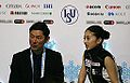 2014 ISU Junior Grand Prix Final Yuka Nagai and coach IMG 2652.JPG