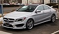 2014 Mercedes-Benz CLA250 Sport package front.jpg
