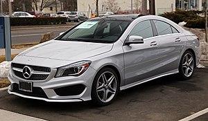 Mercedes-Benz CLA-Class - Mercedes-Benz CLA 250 Sport (US).