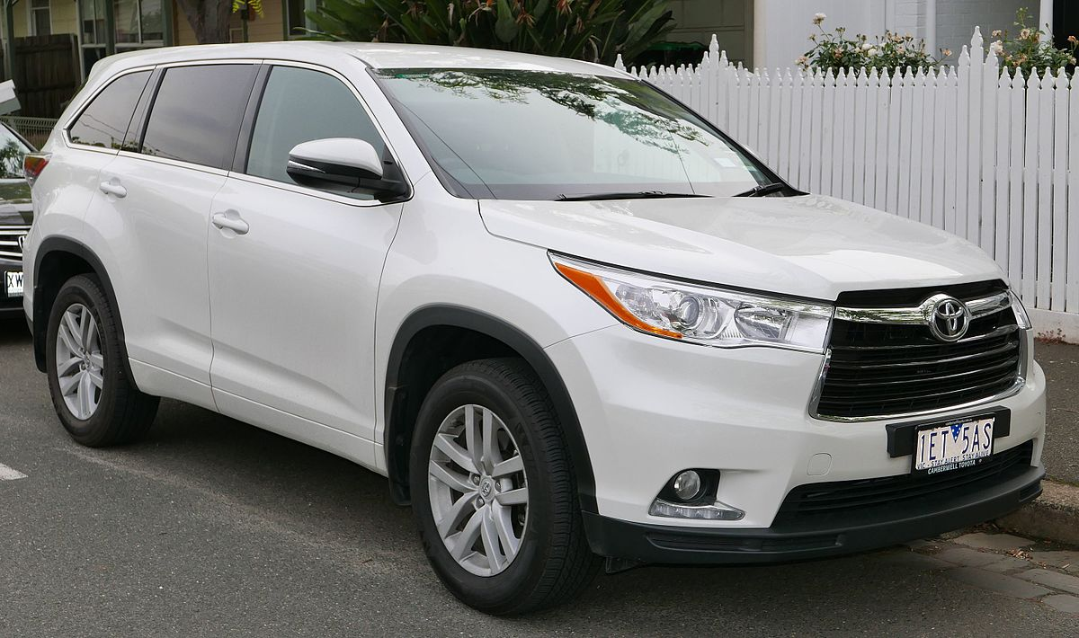 Best Midsize Suv 2017 >> Toyota Highlander - Wikipedia