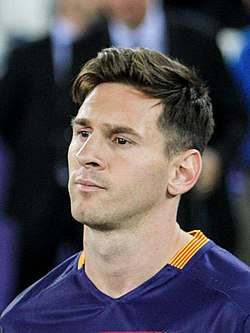 Lionel Messi at UEFA Super Cup 2015. Image: Олег Дубина.