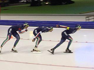 Andrea Giovannini Italian speed skater