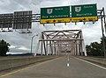 2017-07-23 08 23 15 View north along West Virginia State Route 807 (Hi Carpenter Memorial Bridge) just north of West Virginia State Route 2 (Pleasants Highway) and just southwest of St. Marys in Pleasants County, West Virginia.jpg