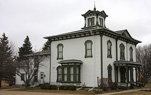Mark H. Dunnell - Home Dunnell built and lived in, now part of a museum in Owatonna, Minnesota.