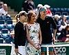 2018 Birmingham - Thursday Petra Kvitova & Daria Gavrilova (42409484414).jpg