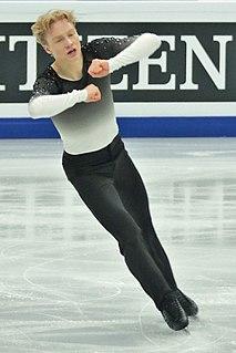 Sondre Oddvoll Bøe Norwegian figure skater
