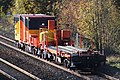 2019 Cogload Junction renewal - uncoupled crane match wagons 97416 and 97417.JPG