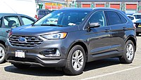 2019 Ford Edge SEL EcoBoost AWD 2.0L front 4.6.19.jpg