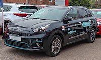 Kia Niro EV front view photo