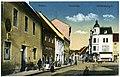 20433-Senftenberg-1917-Rathaus und Kreuzstraße-Brück & Sohn Kunstverlag.jpg
