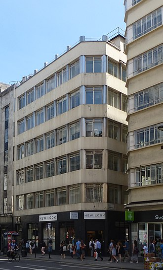 1930 in architecture - Image: 233 High Holborn (geograph 4086453)