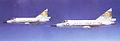 27th Fighter-Interceptor Squadron two F-102s 1958.jpg