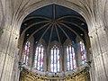 293 Catedral de San Salvador (Oviedo), vitralls i volta de l'absis.jpg