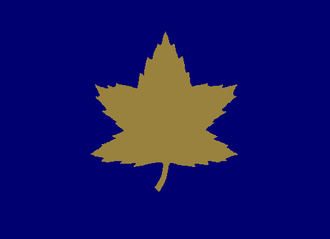 8th Reconnaissance Regiment (14th Canadian Hussars) - Formation sign used to identify vehicles of the 2nd Canadian Infantry Division