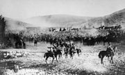 2nd Light Horse Brigade with prisoners