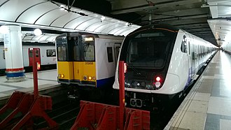 TfL Rail - A Class 315 and Class 345 at Liverpool Street