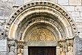 31 - Basilique Saint-Just de Valcabrère - Portail Nord - Tympan.jpg